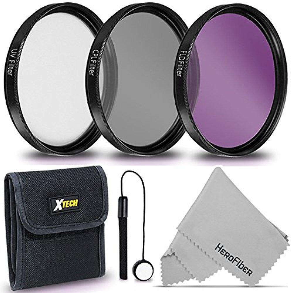 Upgraded Pro 52mm HD MC UV Filter Fits 52 mm UV Filter Nikon AF-S DX Micro-Nikkor 85mm f//3.5G ED VR 52mm Ultraviolet Filter 52mm UV Filter